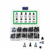 180 pièces interrupteur à clé 10 types 6x6mm interrupteur à bouton poussoir tactile micro-déclencheur Mini Kit d'assortiment Tact momentané