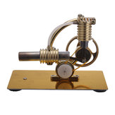 Metalen stoommachine Stirling Engine Model Generator met Bulb Science Toy