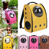 Pet Astronaut Capsule Backpack Portable al aire libre Pet Bolsa Transpirable Gato Perro Mochila