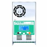 PowMr MPPT 60A Solar controlador de carga y descarga 12V 24V 36V 48V automático para Max PV 190VDC plomo ácido litio Batería