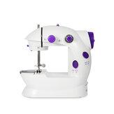 ماكينة خياطة كهربائية محمولة سطح المكتب المنزلية خياط 2 سرعة دواسة القدم