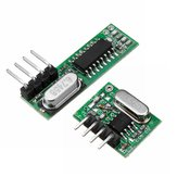 WL102 433MHz Wireless Remote Control Transmitter Module+RX470 433Mhz RF Wireless Remote Control Receiver Module