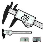 DANIU Paquímetro Digital de 6-inch 150mm Eletrônico À Prova D 'Água IP54 Digital Vernier Caliper LCD Screen Display Micrômetro Ferramenta de Medição Paquímetro