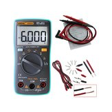 ANENG AN8002 Digitale True RMS 6000 Counts Multimeter AC / DC Stroomspanning Frequentie Weerstand Temperatuurtester ℃ / ℉ + meetsnoer Set