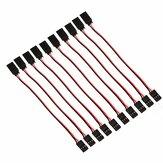 50 x 15 cm 60 núcleos Servo Cable de extensión Alambre para Futaba JR