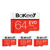 Bakeey BK-TF4 EVO + Paměť TF Flash Karta SDHC 16G / 32G SDXC 64GB 128 GB Paměťová karta Class10 C10 Karty UHS-I TF / SD s kartou Adaptér pro Smartphone Tablet Switch Speaker Drone Car DVR GPS Camera