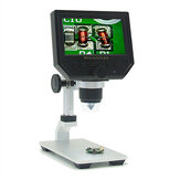 G600 Digital 1-600X 3.6MP 4,3 inch HD LCD-scherm Microscoop Continu vergrootglas Upgrade-versie