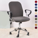 Office Chair Cover Elastic Computer Chair Cover Stretch Arm Chair Seat Cover