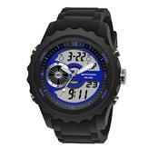 SANDA 769 Luminous Stopwatch Men Dual Digital Digital Menonton