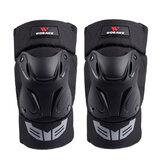 14.2-19.7 ιντσών Universal Motorcycle Racing Knee Pads Armor Protective Guard Black