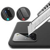 Hoco Çizilmez HD Şeffaf Temperli Cam Telefon Kamera Lens Samsung Galaxy S20 / Galaxy S20 5G 2020 için Koruyucu