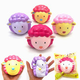 Kiibru Squishy Sheep Lamb 10cm Slow Rising Original Packaging Collection Gift Decor Toy