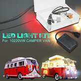 DIY LED Light ONLY Lighting Kit DIY For LEGO 10220 VW CAMPER VAN USB Interface