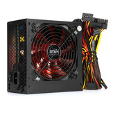Black 850W 12CM Silent Fan PC Power Supply ATX Computer 220V SATA 8Pin+2x6Pin