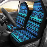 Car Front Seat Cover Protector Kussen Afdrukpatroon Sedan SUV Truck Universal