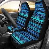 Car Front Seat Cover Protector Cushion Print Pattern Sedan SUV Truck Universal