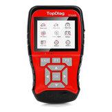 TP908B OBDII EOBD Coche Escáner de diagnóstico herramienta 12V 24V Batería Probador 2 en 1 Detección de sistema dual