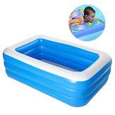 1,5 / 1,8 / 2,1 / 2,6 m Piscine gonflable pour enfants, pataugeoire, piscine d'été