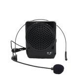 JIY Loudspeaker 25W Tragbares professionelles Megaphon Lautes Sprachverstärker-Megaphon mit Mikrofon für Lehrer Reiseleiter Verwendung