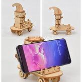 Neueste DIY 3D Holz Puzzle Montage Spielzeug Geschenk für Kinder Erwachsene Telefonhalter Telefonständer