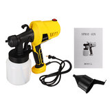 500W Electric Airless Paint Sprayer Spray Guns Handheld DIY Paint House Craft Tool