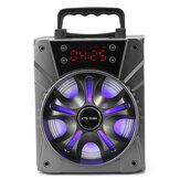 LED-display Draagbare Bluetooth Draadloze luidspreker Subwoofer TF-kaartalarm
