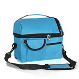 8L Picnic Bag Outdoor Camping Food Storage Bag Thermal Insulation Cooler Lunch Bag