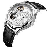 MEGIR 2017G Деловые мужские наручные часы с автоматическим циферблатом Механический Часы