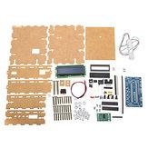 DIY 3kg Electronics Waagen Halterung Satz 3 kg Wiege Sensor Acryl Shell