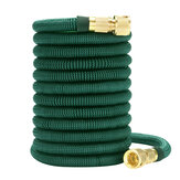 Dark Green Expandable Flexible Water Hoses Telescopic Pipe Full Copper Connector for Car Wash Tool