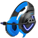 ONIKUMA K1-B Gaming Headphone Flexible Light Bass Stereo Over Ear Headset Headphone with Mic