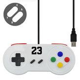 VERI KURBAĞı Kablolu USB Gamepad Oyun Joypad için Windows7 / 8/10 / MAC Bilgisayar Oyun Denetleyicisi