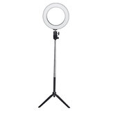 16cm 20cm 26cm 3500-5500k Fotografia Regulável LED Selfie Ring Light Photo Studio Lamp Com suporte para telefone Plug USB Para vídeo Live Blogger Photo TikTok