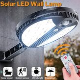 70 LED Remote Solar Power Wall Light PIR Motion Sensor Outdoor Solar Lights Garden Yard Lamp