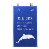 Excellway® RTL2832U + R820T2 100KHz-1.7GHz UHF VHF HF RTL.SDR All Wave USB Tuner Приемник AM FM Радио