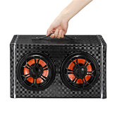 150W Wireless bluetooth Car Speaker Super Bass Subwoofer Surround Sound Dengan Mic Untuk 12V / 24V / 100-240