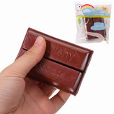 Yunxin Squishy Chocolate 8cm Sweet Slow Rising z opakowaniem Kolekcja Gift Decor Toy