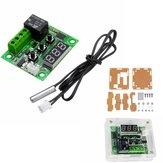 10 sztuk XH-W1209 DC 12V Termostat Przełącznik kontroli temperatury Termometr kontroler z cyfrowym wyświetlaczem LED z etui