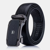 BULLCAPTAIN Genuine Leather First Layer Leather Business Casual Automatic Buckle Belt Leather Belt For Men