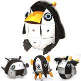 Parcae NS002 90PCS Magnetic Magia Wisdom Ball Black White Penguin bloquea varios juguetes de deformación