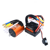 Superar Passatempo À Prova D 'Água 3650 4300KV Brushless RC Motor Do Carro Com 60A ESC Set Para 1/10 RC Car
