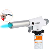 Metal Ignition Butane Gas Welding Torch Camping Picnic BBQ Lighter Burner
