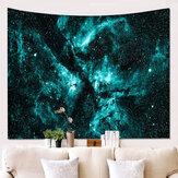 Τρισδιάστατη εκτύπωση Ταπετσαρία Κρεμαστά ταπετσαρία Πράσινη μαγική γαλαξία Διακοσμητική ταπετσαρία σεντόνι Magic Galaxy Home Decor