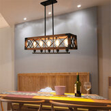 110-240V Industrial Pendant 5-Light Chandelier Ceiling Lamp Lighting Fixture Kitchen Bar Without Bulb