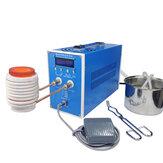 6000 Вт ZVS Индукционный Нагреватель с тиглем 1 кг / 2 кг / 3 кг Машина индукционного нагрева Металлоплавильная печь Высокочастотная сварка Обор