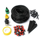 Micro Drip Irrigation System DIY Micro Drip Garden Watering Adjustable Plant Water Hose Kits