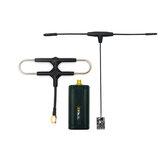 FrSky R9M Lite 900MHz Módulo transmissor até 1W RF de potência com R9 MX OTA ACCESS Combinação de receptor de longo alcance com antena Super 8 e T montada
