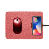 Bakeey 10W Qi Caricabatterie wireless Tappetino per mouse ricarica per iPhone X 8 8 Plus per Samsung S8 Plus