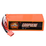 URUAV GRAPHENE 6S 22.2V 6000mAh 100C Lipo Battery XT90 Plug for RC Racing Drone