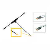 Original FrSky 868MHz Dipole T Antenna IPEXI for R9 Slim / Slim+ Receiver LBT Version RC Drone
